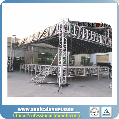 Portable concert stage truss system