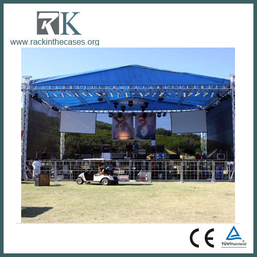 Outdoor concert aluminum stage truss