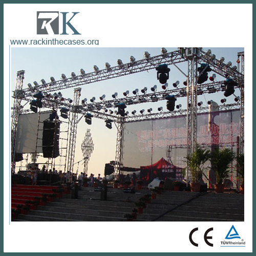 lighting truss system for exhibition