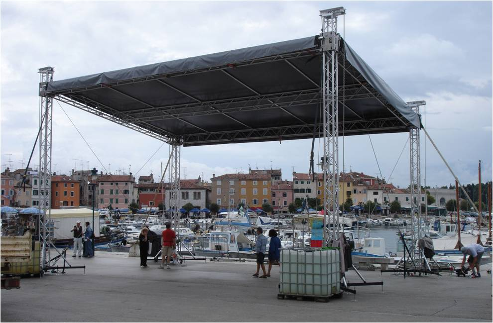 Stage Truss Roof System Aluminum Truss For Sale
