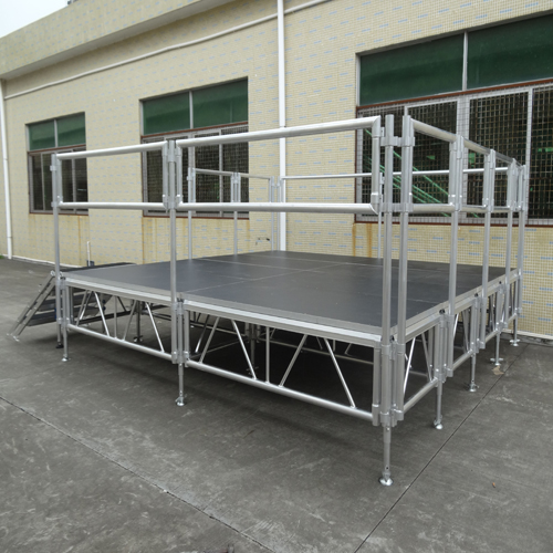 Aluminum wooden concert stage part and accessories