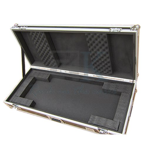 61 KEY BOARD CASE WITH ADJUSTABLE Z-LOCK FOAM AND LOW PROFIL