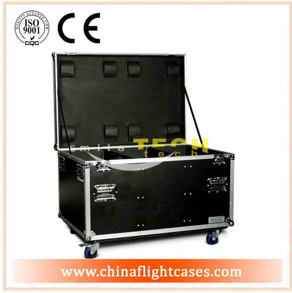 Heavy duty utility trunk flight case with 4inch caster