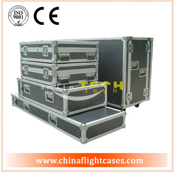 Aluminum durable lighting cable utility trunks case