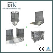 RK Gate Barrier with Lockable Gate