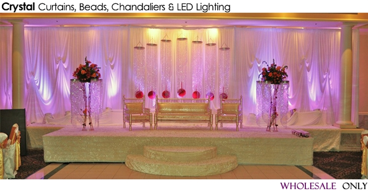 Best choice for wedding stage decoration for Indoor stage decoration