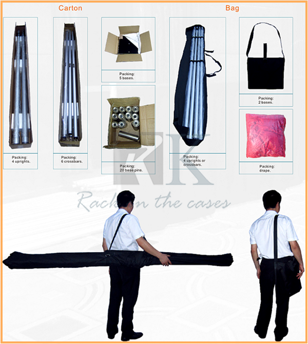 RK Pipe and Drape Package