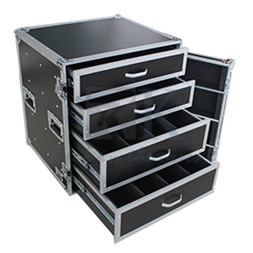 Professional ATA Drawer Flight Case with 4 Drawers