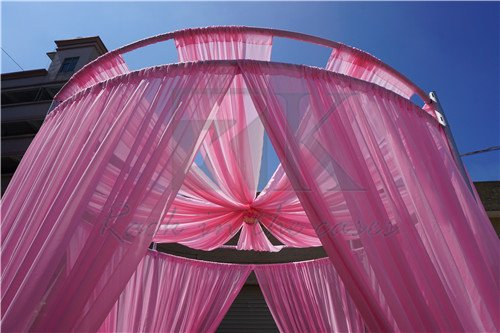Double round roof decoration used in wedding party