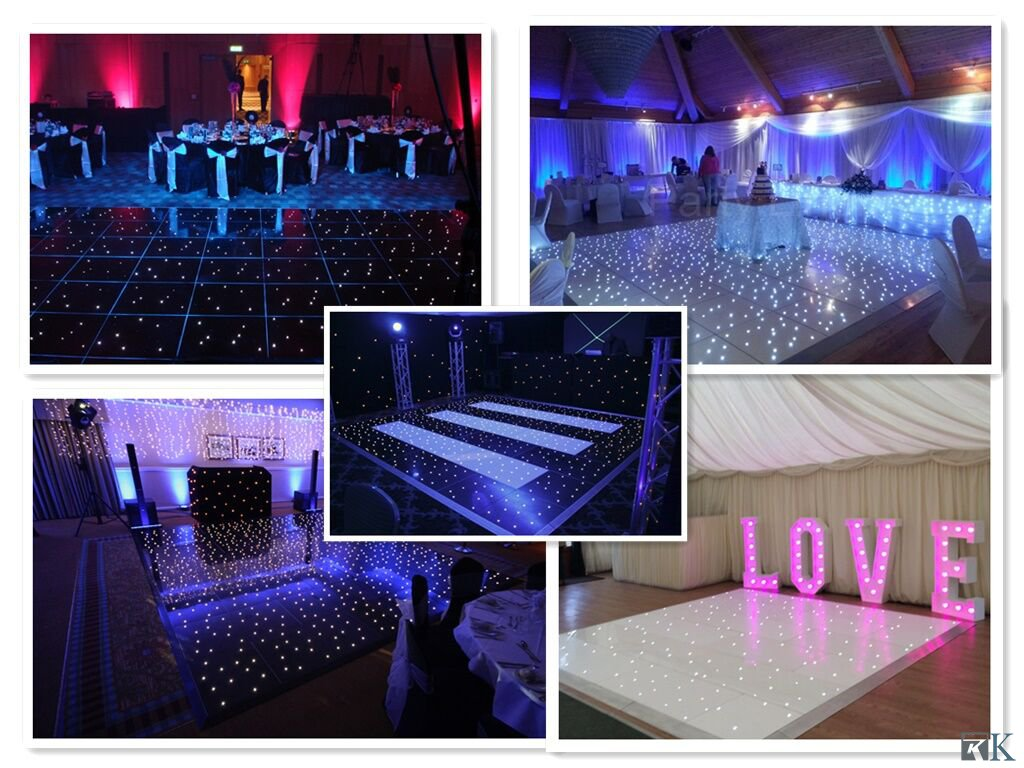 New Innovative Luxury Product LED White Dance Floor for Wedd